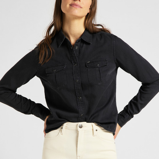 Lee Regular Western Shir Black