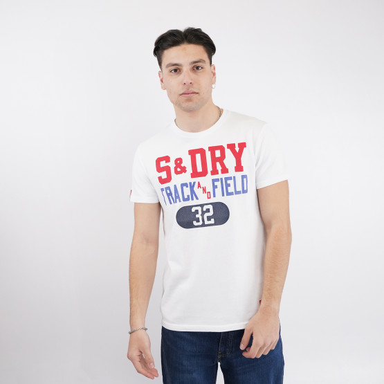 Superdry Track And Field Graphic Ανδρικό T-shirt