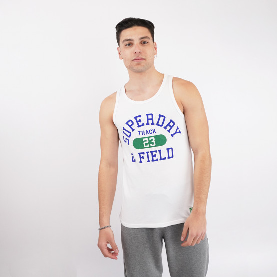 Superdry Track And Field Graphic Vest Ανδρικό Αμάνικο T-shirt