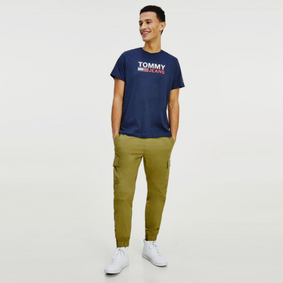Tommy Jeans Logo Ανδρικό T-Shirt