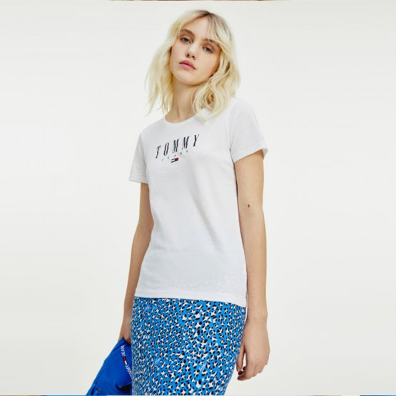 Tommy Jeans Essential Skinny Fit Logo Women's T-shirt
