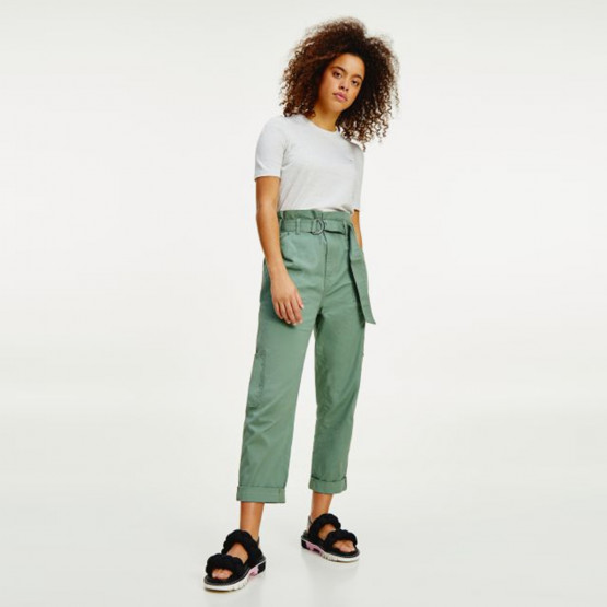 Tommy Jeans Paperbag Waist Women's Cargo Pants (Length 30L)