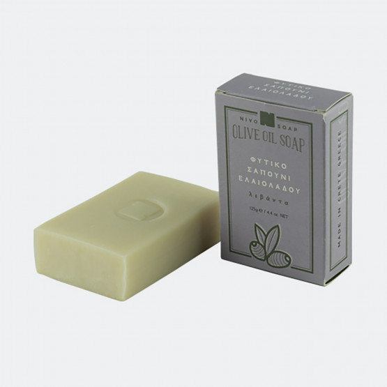Nivosoap Nostos Lavender Flower & Olive Oil Soap Bar
