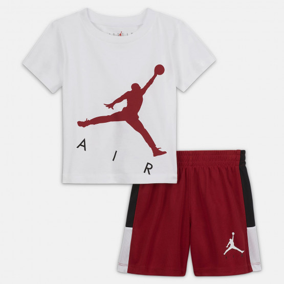 Jordan Jumping Big Air Tee & Short Βρεφικό Σετ