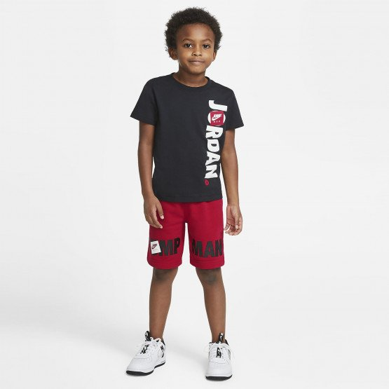 Jordan Jdb Jumping Big Air Tee & Short Baby's Set