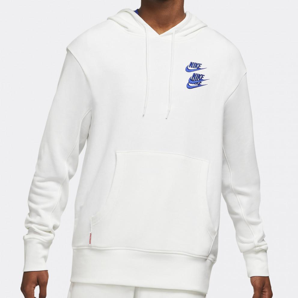 Nike Sportswear Pullover French Terry Ανδρική Μπλούζα Φούτερ Με Κουκούλα