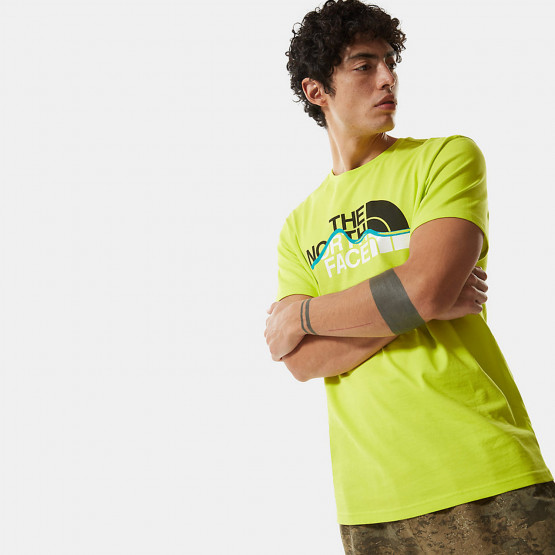 THE NORTH FACE Men's Short SLeeve Mountain Line Tee