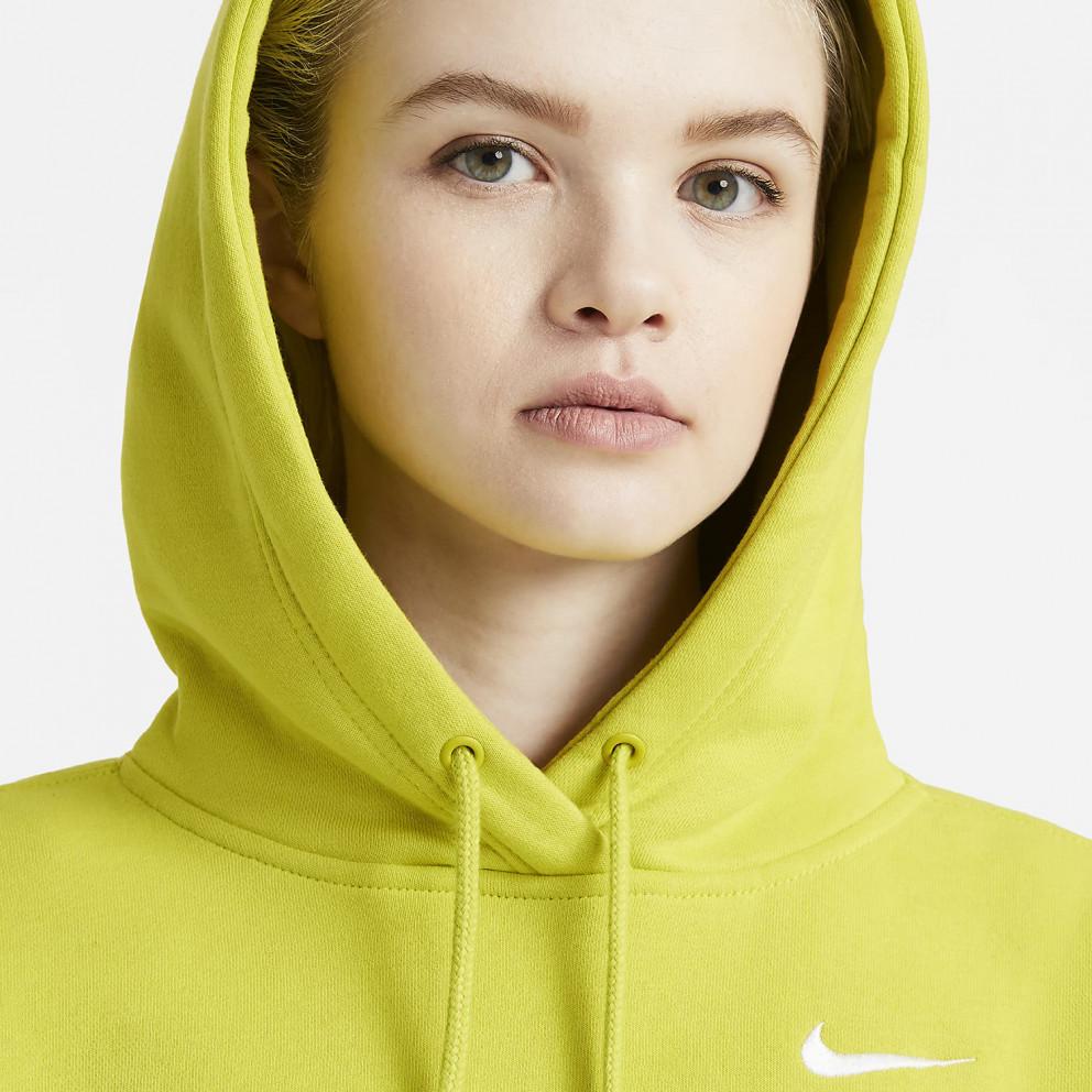 Nike Sportswear Fleece Γυναικεία Μπλούζα με Κουκούλα