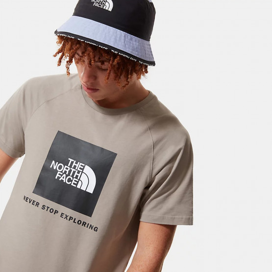The North Face M Ss Rag Red Box Tee