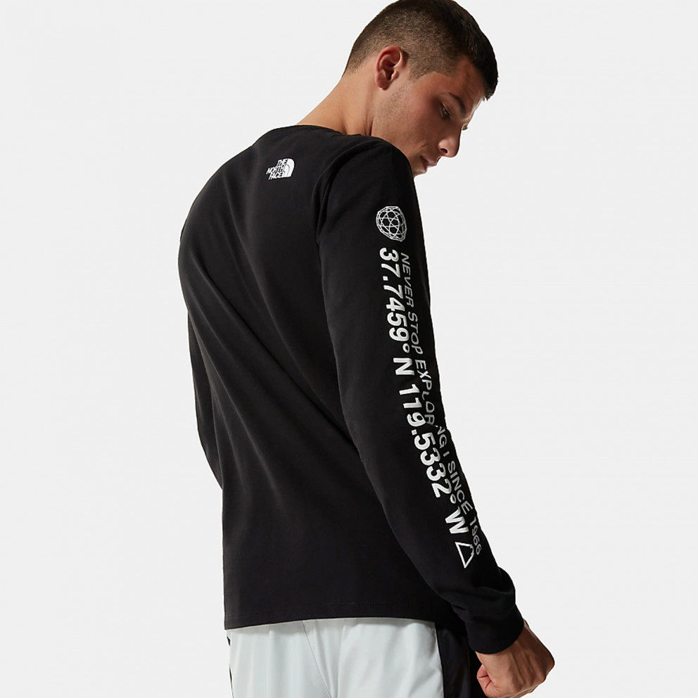 The North Face M Coordinates Ls Tee
