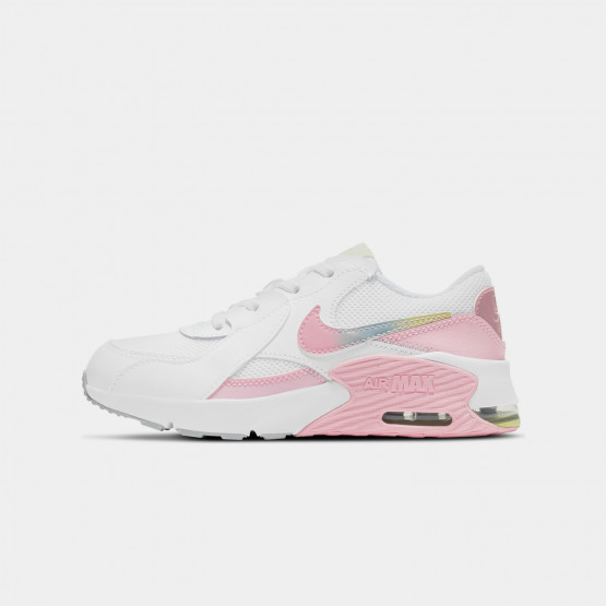 Nike Air Max Excee Kids' Shoes white / pink CW5832-100