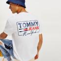 Tommy Jeans Tjm Ny Script Box Back Logo Tee