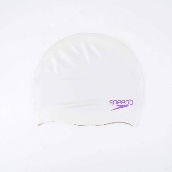 Speedo Plain Moulded Silicone Kids' Cap