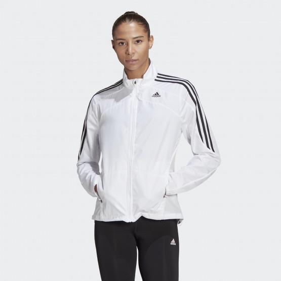 adidas Performance Marathon 3-Stripes Women's Windproof Jacket