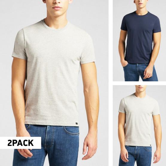 Lee Twin Pack Crew 2 Pack Men's T-shirt