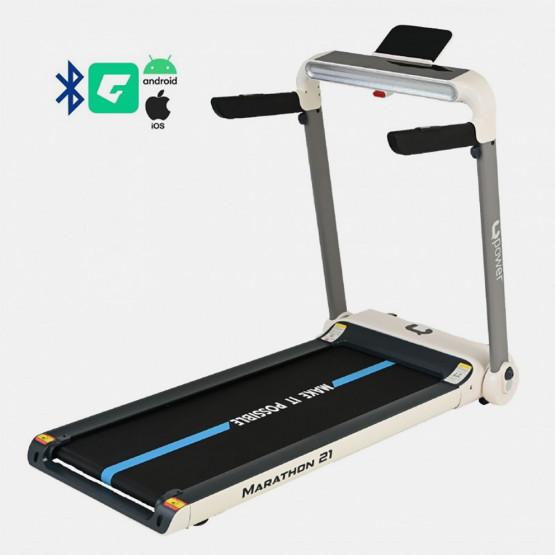 Upower Ηλεκτρικός Διάδρομος Γυμναστικής Marathon 21, 2.0HP