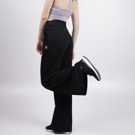 BodyTalk Pantsonw Loose Wide Leg Pants - Medium Cr