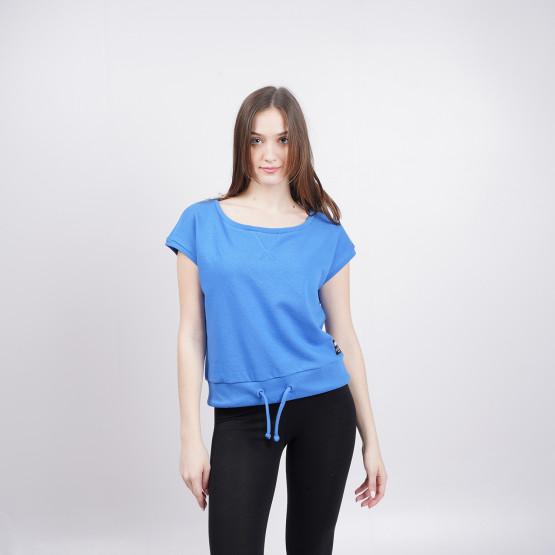 BodyTalk Women's Cropped T-shirt Blue