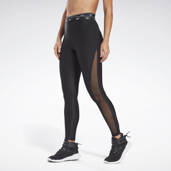 Reebok Sport Studio Mesh Leggings Γυναικείο Κολάν