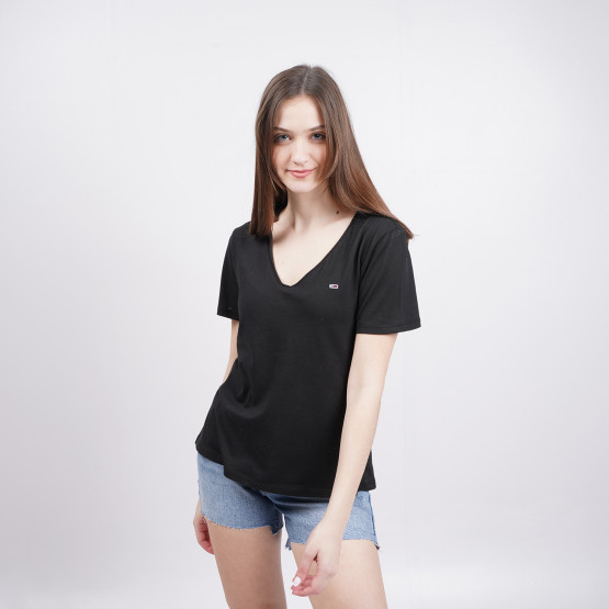 Tommy Jeans V-Neck Women's T-Shirt