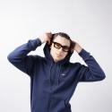Tommy Jeans Fleece Zip-Thru Ανδρική Ζακέτα