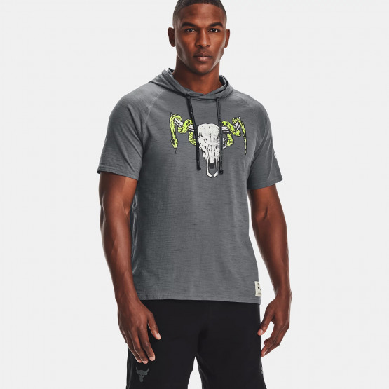 Under Armour Project Rock Charged Cotton Ανδρική Μπλούζα