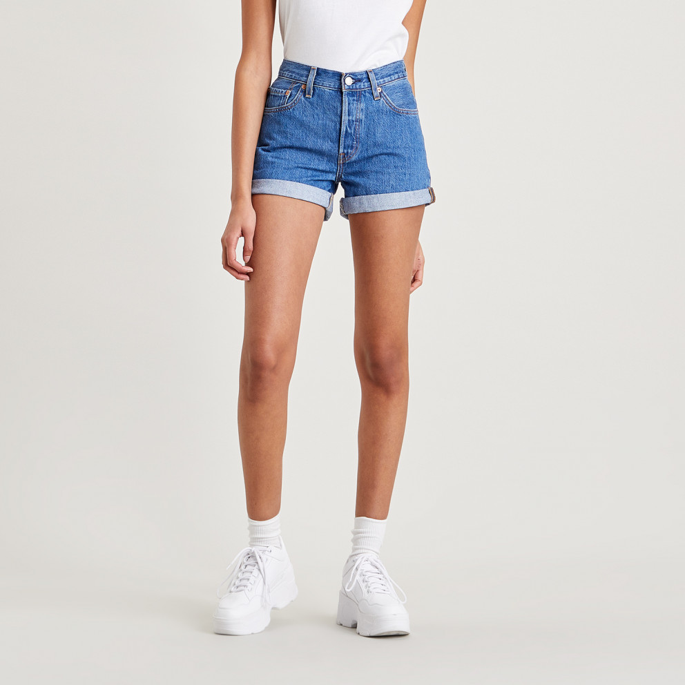 Levi's 501 High Rise Rolled Women's Shorts