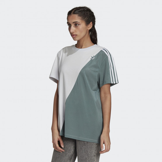adidas Originals Adicolor Sliced Trefoil Γυναικείο T-shirt