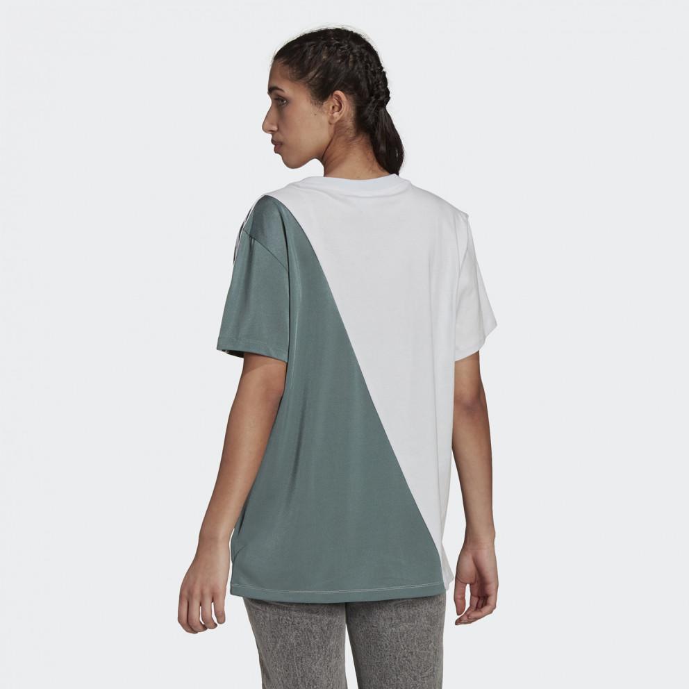 adidas Originals Adicolor Sliced Trefoil Γυναικείο T-shirt