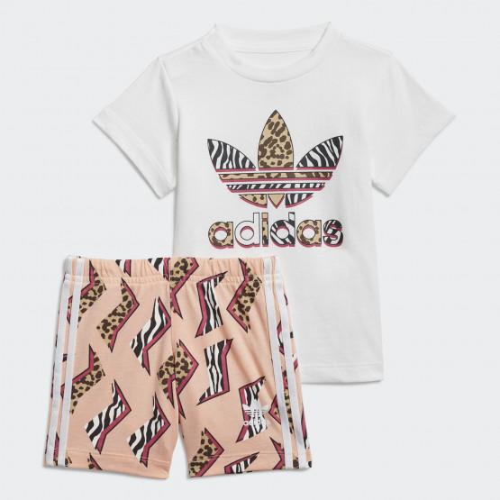 adidas Originals Graphic Print Βρεφικό Σετ