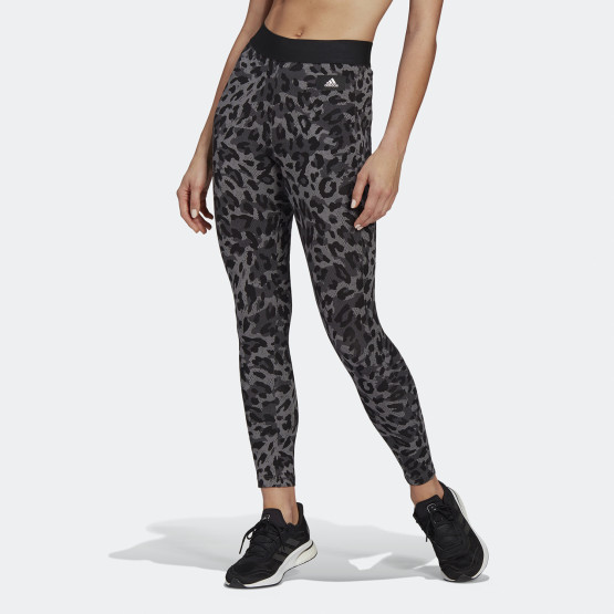 adidas Performance Leopard-Print Cotton Γυναικείο Κολάν