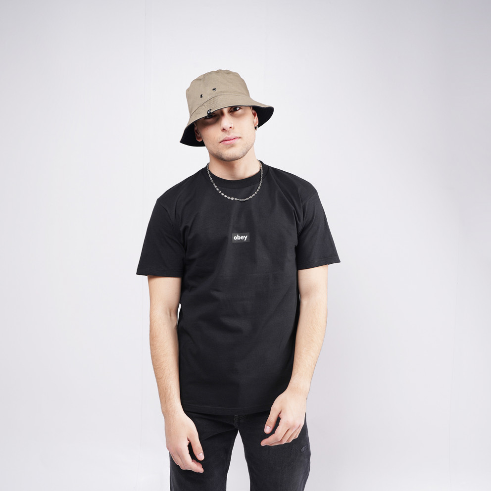 Obey Black Bar Classic Men's Tee