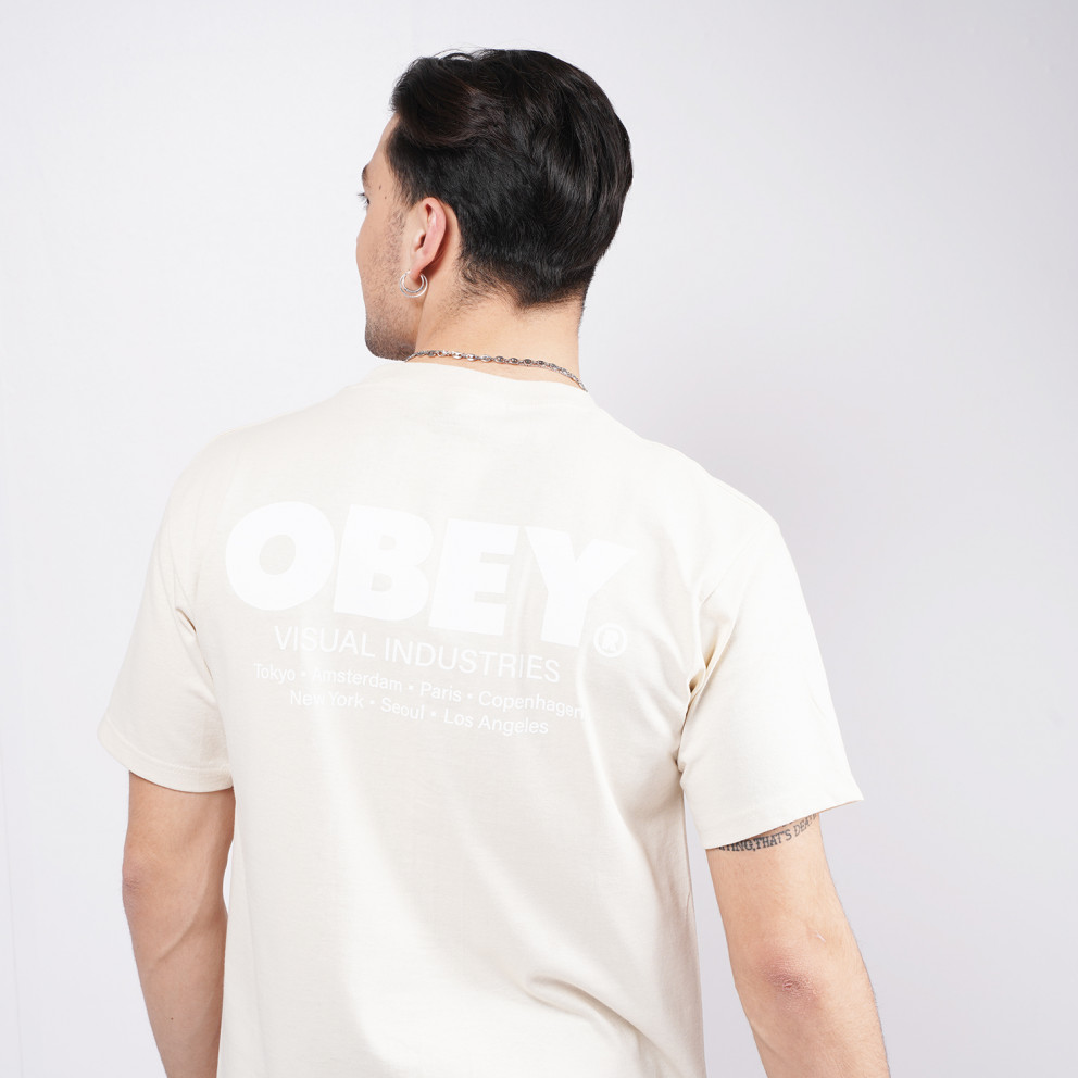 Obey Visual Industries Classic Men's T-Shirt
