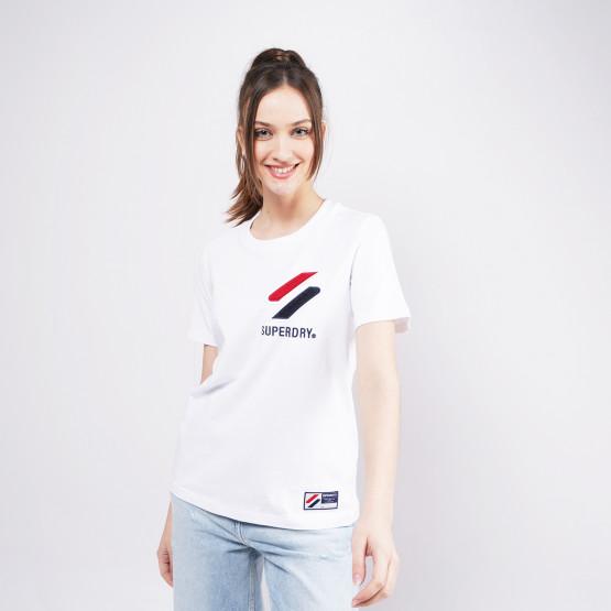 Superdry Sportstyle Chenille Γυναικείο T-shirt