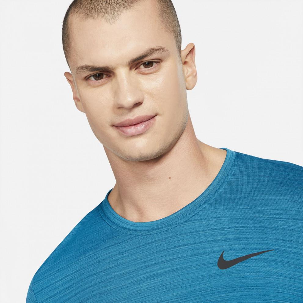 Nike Dri-FIT Superset Ανδρική Μπλούζα για Προπόνηση