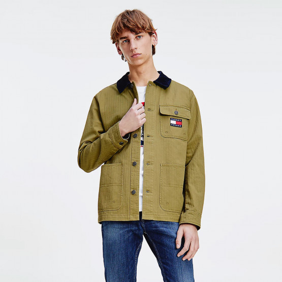 Tommy Jeans Tjm Badge Worker Jacket
