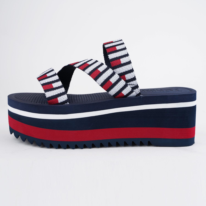 Tommy Jeans Flag Webbing Flatform Mule (9000074939_45076)