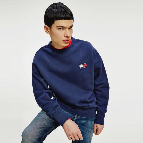 Tommy Jeans Tommy Badge Crew Neck Men's Sweatshirt