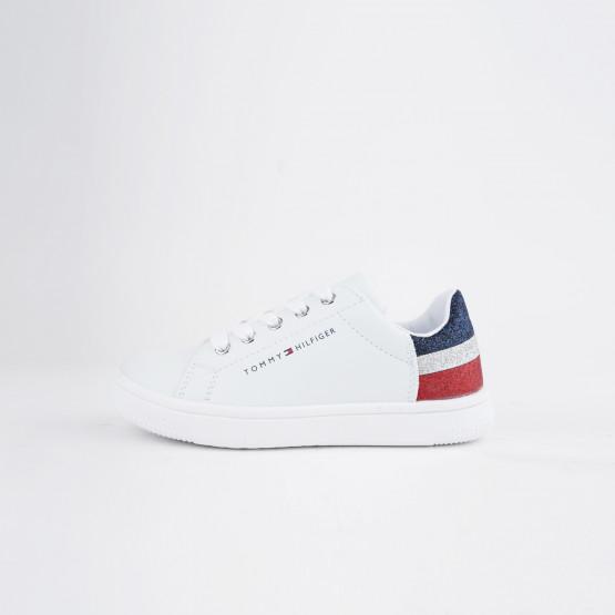 Tommy Jeans Low Cut Velcro Παιδικά  Sneaker