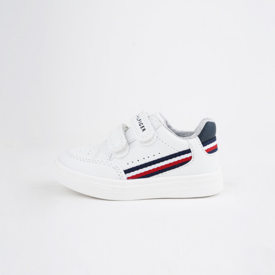 Tommy Jeans Low Cut Velcro Βρεφικά Sneakers