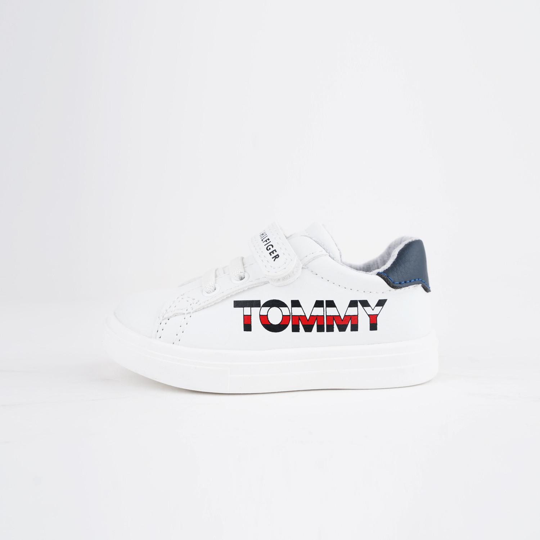 Tommy Jeans Low Cut Velcro Βρεφικά Sneaker (9000074993_2879)