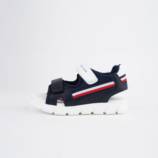 Tommy Jeans Velcro Παιδικά Σανδάλια