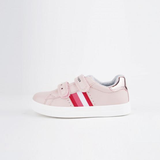 Tommy Jeans Low Cut Velcro Παιδικά Sneakers