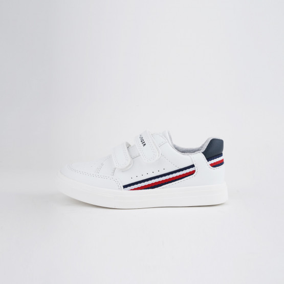 Tommy Jeans Low Cut Velcro Παιδικά Sneaker