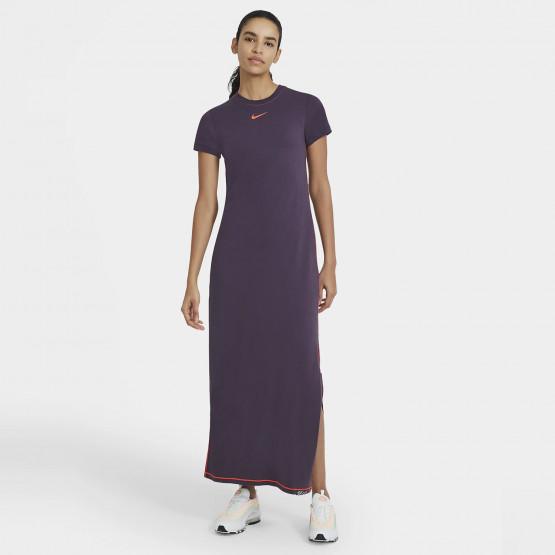 nike w nsw icn clsh maxi dress