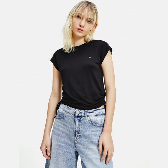 Tommy Jeans Regular Side Knot Γυναικείο T-Shirt