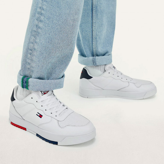 Tommy Jeans Ανδρικά Sneakers Με Τρακτερωτή Σόλα