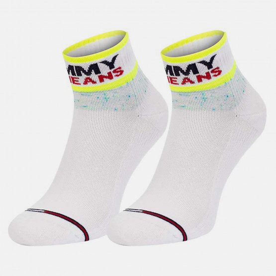 Tommy Jeans Cushioned Quarter 2-Pack Unisex Socks