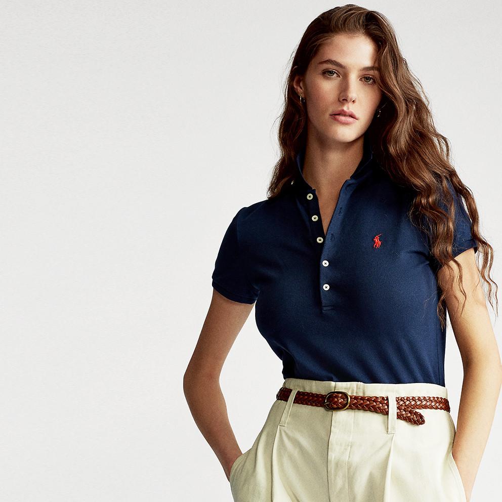 Polo Ralph Lauren Julie Γυναικείο Polo T-shirt (9000075788_23590)