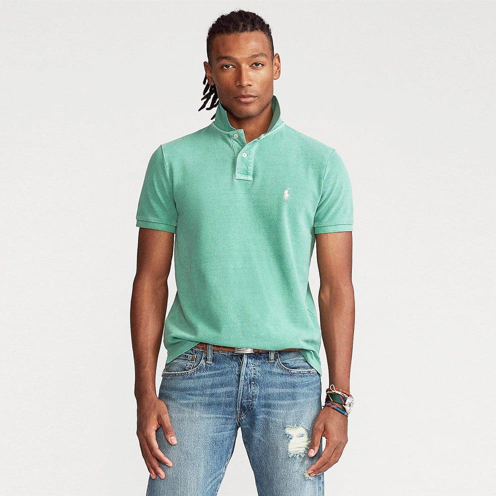 Polo Ralph Lauren Classic Fit Mesh Ανδρικό Polo T-shirt (9000075876_52143)